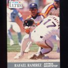 1991 Ultra Baseball #139 Rafael Ramirez - Houston Astros