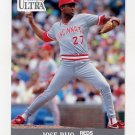 1991 Ultra Baseball #102 Jose Rijo - Cincinnati Reds