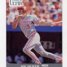 1991 Ultra Baseball #099 Joe Oliver - Cincinnati Reds