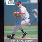 1991 Ultra Baseball #077 Steve Lyons - Chicago White Sox
