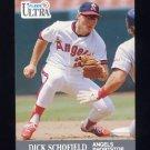 1991 Ultra Baseball #052 Dick Schofield - California Angels