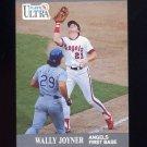 1991 Ultra Baseball #048 Wally Joyner - California Angels