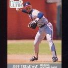 1991 Ultra Baseball #013 Jeff Treadway - Atlanta Braves