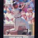 1991 Ultra Baseball #011 Lonnie Smith - Atlanta Braves