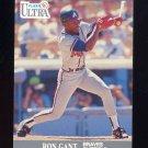1991 Ultra Baseball #004 Ron Gant - Atlanta Braves