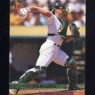 1993 Ultra Baseball #607 Scott Hemond - Oakland A's