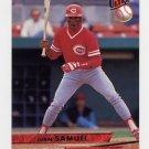 1993 Ultra Baseball #335 Juan Samuel - Cincinnati Reds