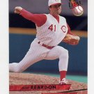 1993 Ultra Baseball #333 Jeff Reardon - Cincinnati Reds