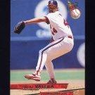 1993 Ultra Baseball #169 Julio Valera - California Angels