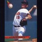 1993 Ultra Baseball #142 Ben McDonald - Baltimore Orioles