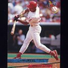 1993 Ultra Baseball #084 Juan Bell - Philadelphia Phillies