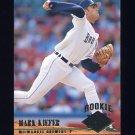 1994 Ultra Baseball #373 Mark Kiefer - Milwaukee Brewers