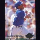1994 Ultra Baseball #365 Dave Henderson - Kansas City Royals