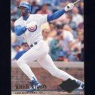 1994 Ultra Baseball #169 Willie Wilson - Chicago Cubs