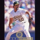 1995 Ultra Baseball #320 Steve Ontiveros - Oakland A's