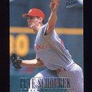 1996 Ultra Baseball #183 Pete Schourek - Cincinnati Reds