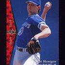 1995 SP Baseball #207 Pat Hentgen - Toronto Blue Jays