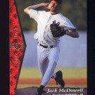 1995 SP Baseball #176 Jack McDowell - Chicago White Sox