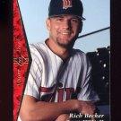 1995 SP Baseball #174 Rich Becker - Minnesota Twins