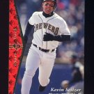 1995 SP Baseball #166 Kevin Seitzer - Milwaukee Brewers
