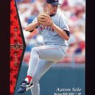 1995 SP Baseball #129 Aaron Sele - Boston Red Sox