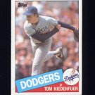 1985 Topps Baseball #782 Tom Niedenfuer - Los Angeles Dodgers