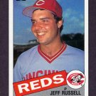 1985 Topps Baseball #651 Jeff Russell - Cincinnati Reds