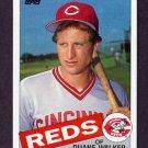 1985 Topps Baseball #441 Duane Walker - Cincinnati Reds