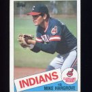 1985 Topps Baseball #425 Mike Hargrove - Cleveland Indians