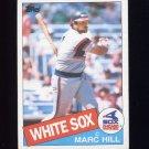 1985 Topps Baseball #312 Marc Hill - Chicago White Sox