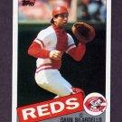 1985 Topps Baseball #028 Dann Bilardello - Cincinnati Reds
