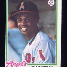 1978 Topps Baseball #619 Thad Bosley RC - California Angels