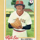 1978 Topps Baseball #545 Bill Campbell - Boston Red Sox