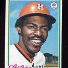 1978 Topps Baseball #534 Wilbur Howard - Houston Astros
