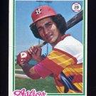 1978 Topps Baseball #389 Julio Gonzalez RC - Houston Astros