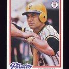 1978 Topps Baseball #323 Jim Fregosi - Pittsburgh Pirates
