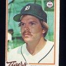 1978 Topps Baseball #094 Chuck Scrivener - Detroit Tigers