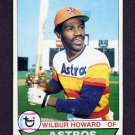1979 Topps Baseball #642 Wilbur Howard - Houston Astros