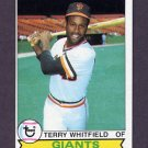 1979 Topps Baseball #589 Terry Whitfield - San Francisco Giants