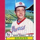 1979 Topps Baseball #496 Barry Bonnell - Atlanta Braves