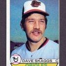 1979 Topps Baseball #367 Dave Skaggs - Baltimore Orioles