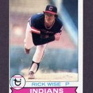 1979 Topps Baseball #253 Rick Wise - Cleveland Indians
