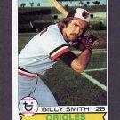 1979 Topps Baseball #237 Billy Smith - Baltimore Orioles
