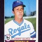 1979 Topps Baseball #019 Larry Gura - Kansas City Royals