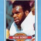 1980 Topps Football #462 Revie Sorey - Chicago Bears