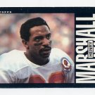 1985 Topps Football #279 Henry Marshall - Kansas City Chiefs