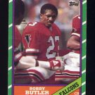 1986 Topps Football #370 Bobby Butler - Atlanta Falcons
