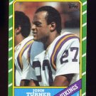 1986 Topps Football #301 John Turner - Minnesota Vikings