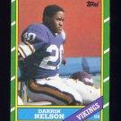 1986 Topps Football #294 Darrin Nelson - Minnesota Vikings