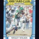 1987 Topps Football 1000 Yard Club #22 Wesley Walker - New York Jets